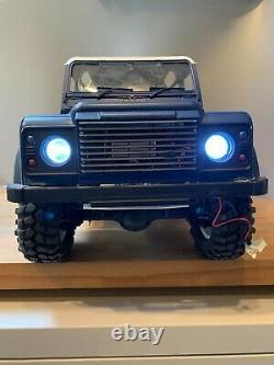 1/10 Land Rover Defender 90 Truck RC Rock Crawler Car Off Road Remote Control