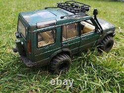 118 Land Rover Discovery Series II Metallic Green Off Roader 4x4 Modified code3