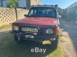 1999 Land Rover discovery td5 off roader