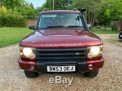 2003 Land Rover discovery 2 TD5 auto, off roader, 2 lift, snorkel, 166k