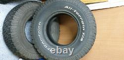 285 75 16 AT tyres BFG & General Grabber Land Rover off road