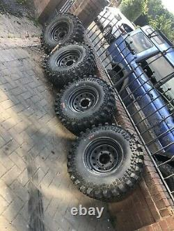 35s Land Dragon Tyres With Rims. Offroad Tyres Landrover Landcruiser Offroader