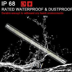 44 Inch 1296W Triple Row Led Light Bar Flood Spot Combo Beam Led Bar Off Road UK