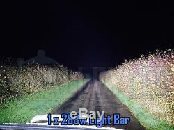 4D 13 72w Cree LED Light Bar Combo IP68 Driving Light Alloy Off Road 4WD Boat