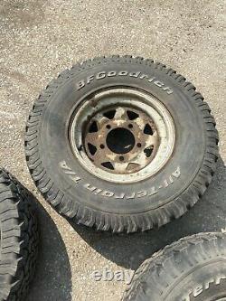 4x BF Goodrich All-Terrain 31x10.50R15LT off road 4x4 Land Rover Defender Wheel