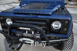 8pc Smoked LED Signal Driving Brake Light Assy Kit For Land Rover Defender 2 3