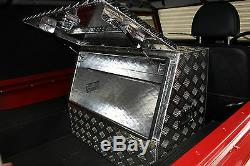 Aluminium Single LID Tool Box Truck Box For Land Rover Defender 90 110 Off Road