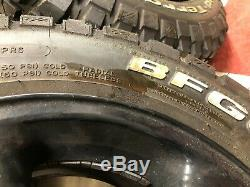 BF Goodrich 17 TYRES AND RIMS BF Goodrich Mud-Terrain KM2 Landrover off Road