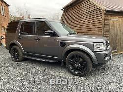 Black Side Steps Running Boards Land Rover Discovery 3 & 4 2009-17 Off-road 4x4