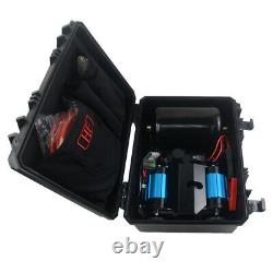 CKMTP12 Twin high output portable kit 12V OFF ROAD AIR COMPRESSOR