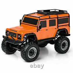 Carson Land Rover Defender Crawler 18 Ready to Run RC Car Orange C404171