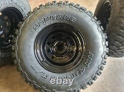 Discovery 2 Td5 Wheels + 33/12.50x15 Nankang Tyres + Modular Wheels On/off Road