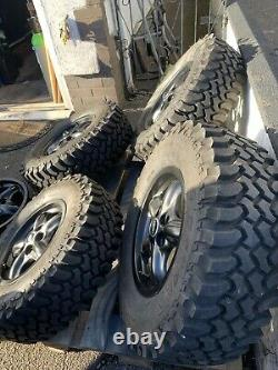 Discovery 2 Wheels Tyres 245 70 16 Insa Turbo Dakar Land Rover 4x4 Mud Off Road