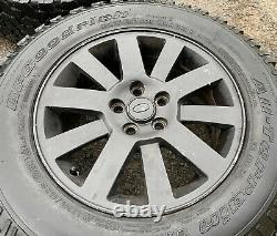GENUINE OEM LAND ROVER DISCOVERY 18 5x120 ALLOY WHEELS + TYRES 4x4 Off Road