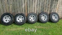 Genuine Land Rover Defender 16 Boost Alloy Wheels Tyres 235/85R16 New Take Off