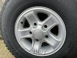 Genuine Land Rover Defender spare Boost Alloy Wheel Tyre 235 85 r16 new take off