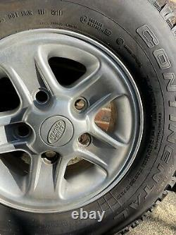 Genuine Land Rover Defender spare Boost Alloy Wheel Tyre 235 85 r16 take off