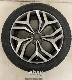 Genuine Range Rover Evoque 20 Style 5079 Diamond Turned Alloy Wheels and Tyres