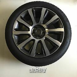 Genuine Range Rover L405 21 Style 101 Diamond Turned Alloy Wheels and Tyres