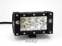 Kc Lzr Led 4 Led Light Bar Jeep Land Rover Off Road Spotlights