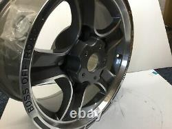 LAND ROVER DEFENDER 16 BOSS OFF-ROAD GREY & POLISHED ALLOY WHEEL, 8j x 16 NEW