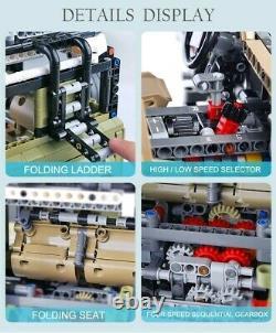 LAND ROVER DEFENDER SUV OFF-ROAD %LEGO TECHNIC COMPATIBILE 2830 pezzi