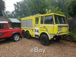 LAND ROVER OFF ROAD FIRE TRUCK PRIVATE EVENT Stonefield P5000 V8 PETROL AUTO