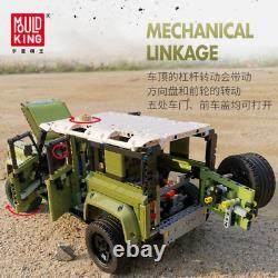 Land Car Rover Defender MOC Off Road Vehicle Building Blocks Toys For Kids