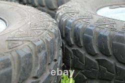 Land Rover 90/110 4x4 steel wheels with wide 10 on/off-road tyres 16 rims x 4