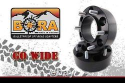 Land Rover Defender 2.00 Wheel Spacers (4) by BORA Off Road Made in the USA