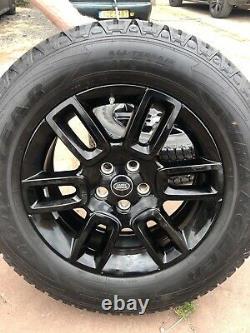 Land Rover Defender 2021 Black Gloss Alloys X5 Goodyear Wrangler Off Road Tyres