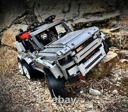 Land Rover Defender 6x6 Rhd Off Road Tow Truck Custom Cmf For Lego Technic 42110