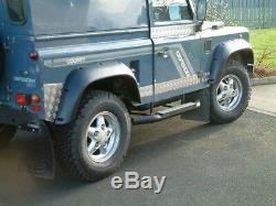 Land Rover Defender 90 110 1984 Onwards 2 Off Road Wheel Arch Flares Kit Da2366