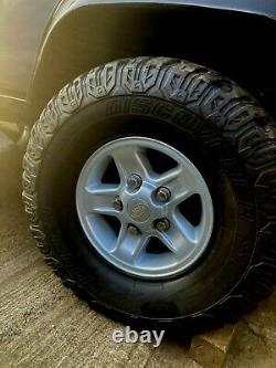 Land Rover Defender 90 110 Boost alloys with 33 tyres, ON OFF ROAD, 4X4