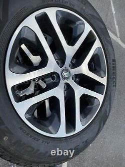 Land Rover Defender 90 110 L663 5095 grey diamd turned 20 alloy wheels tyres x5