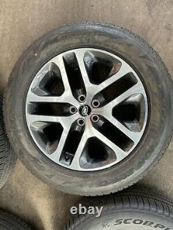 Land Rover Defender 90 110 L663 5095 grey diamond turned 20 alloy wheels tyres