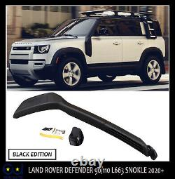 Land Rover Defender 90/110 L663 Off Road Oe Style Snorkel Black Edition 2020+