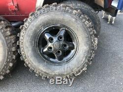 Land Rover Defender / Discovery 1 Alloy Wheels and 4x4 Off Road Tyres 265/75/16