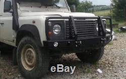 Land Rover Defender Front Steel Bumper Winch Off -road