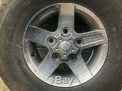 Land Rover Defender Svx Diamond Cut New Take Off Alloy Wheel And Tyre