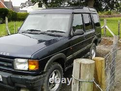 Land Rover Discovery 1997 300tdi Auto 5 Door Commercial Off Road No Mot Project