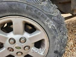 Land Rover Discovery 2 Alloy Wheels Off Road Mud Tyres 245 75 16