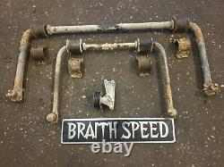 Land Rover Discovery 2 TD5 Fixed Anti Roll Bar Kit Ace Delete 5 Seat Off Road