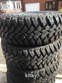 Land Rover Discovery 2 TD5 V8 Off Road Tyres And Wheel 18 X5 + Wheel Spacers