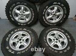 Land Rover Discovery 2 Td5 Set Of 5 Off Road Wheels And Tyres