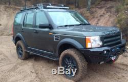 Land Rover Discovery 3 and 4 ROCK SLIDERS SIDE STEPS OFF ROAD HI-LIFT