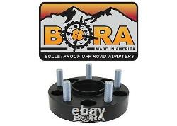 Land Rover Discovery LR3 2.00 Wheel Spacers (4) by BORA Off Road USA Made