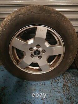 Land Rover Discovery Range Rover Sport Set Off Alloy Wheel With Tyres 255/60/r18