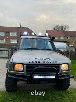 Land Rover Discovery TD5 2002 51 plate off road ready