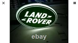 Land Rover Double Sided Illuminated Sign Garage Dealership 90 110 Off Road 1